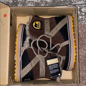 Sorel waterproof women's boot size 6.5 new winter